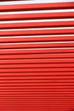 Barras de metal vermelhas Imagens de Stock
