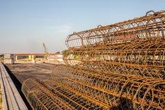 Barras de metal y solar Imagen de archivo libre de regalías