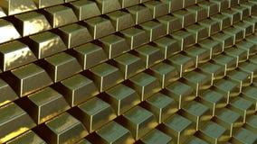 Barras de ouro Foto de Stock