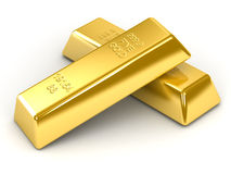 Barras de ouro ilustração stock
