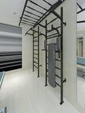 Barras de parede no gym Imagem de Stock Royalty Free