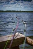 Barras de pesca Fotos de archivo libres de regalías