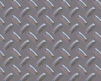 Barras de prata da placa do diamante Fotografia de Stock