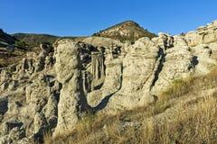 Barras de terra em Kuklica foto de stock
