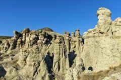 Barras de terra em Kuklica imagem de stock
