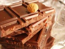 Barras del chocolate Foto de archivo libre de regalías
