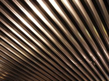 Barras del techo del metal Fotos de archivo libres de regalías