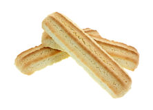 Barras do biscoito empilhadas imagem de stock royalty free