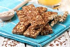 Barras do cereal imagens de stock royalty free