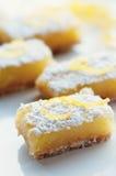 Barras do limão foto de stock