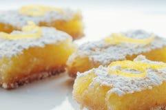 Barras do limão fotografia de stock