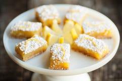 Barras do limão Imagens de Stock Royalty Free
