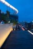 Barras do telhado em Banguecoque, Tailândia Imagem de Stock Royalty Free