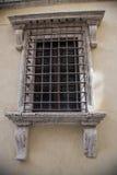 Barras en la ventana Imagenes de archivo