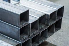 Barras feitas do aço carbono Imagem de Stock