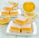 Barras do limão imagens de stock