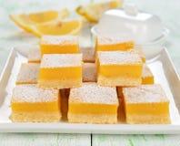 Barras do limão fotos de stock royalty free