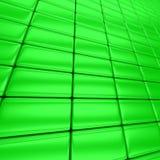 Barras verdes Foto de archivo libre de regalías