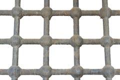 Barras viejas de la prisión Fotos de archivo libres de regalías