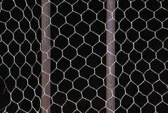 Barras y red de metal Fotografía de archivo libre de regalías