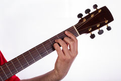 Barre chord Royalty Free Stock Photo