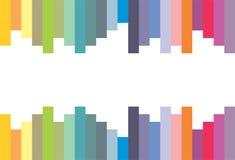 Barre colorate - vettore Fotografie Stock Libere da Diritti