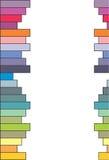 Barre colorate - vettore Immagine Stock