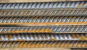 Barre d'acciaio Immagini Stock