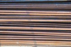Barre d'acciaio fotografie stock