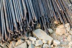 Barre d'acciaio fotografia stock libera da diritti
