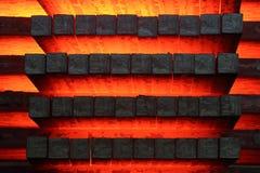 Barre d'acciaio 1 Fotografia Stock