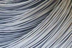 Barre d'acciaio di rinforzo Fotografie Stock Libere da Diritti