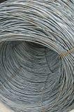 Barre d'acciaio di rinforzo Fotografia Stock