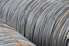 Barre d'acier de fil Photo libre de droits