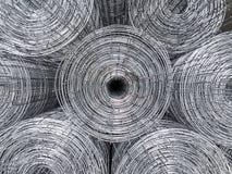 Barre d'acier se préparant à la construction de bâtiments photo libre de droits