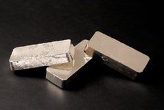 Barre d'argento Fotografia Stock Libera da Diritti