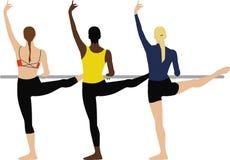Barre Dancers Stockbild