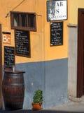 Barre dans Ténérife, Îles Canaries Photographie stock libre de droits