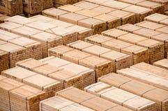 Barre de bois de construction Photographie stock libre de droits