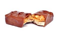 Barre de chocolat Photos stock