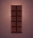 Barre de chocolat illustration libre de droits