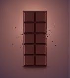 Barre de chocolat Photographie stock libre de droits