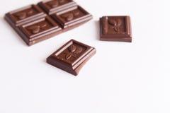 Barre de chocolat photo stock