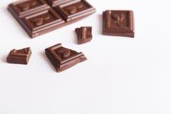 Barre de chocolat photos libres de droits