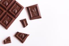 Barre de chocolat images libres de droits