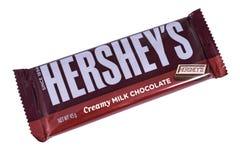 Barre de chocolat de Hersheys Photos libres de droits