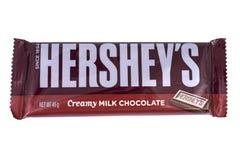 Barre de chocolat de Hersheys Photographie stock libre de droits