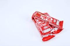 Barre de chocolat du kit KAT de Nestle Photographie stock libre de droits