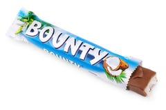 Barre de chocolat none emballé de sucrerie de générosité Images stock