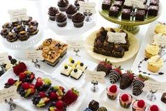 Barre de dessert Photographie stock libre de droits